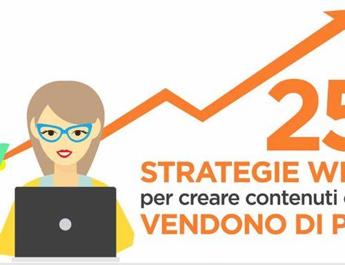 Infografica: 25 strategie per scrivere contenuti web che vendono