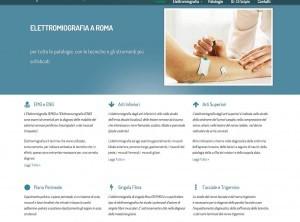 Elettromiografia.org: sito web studio medico specialistico